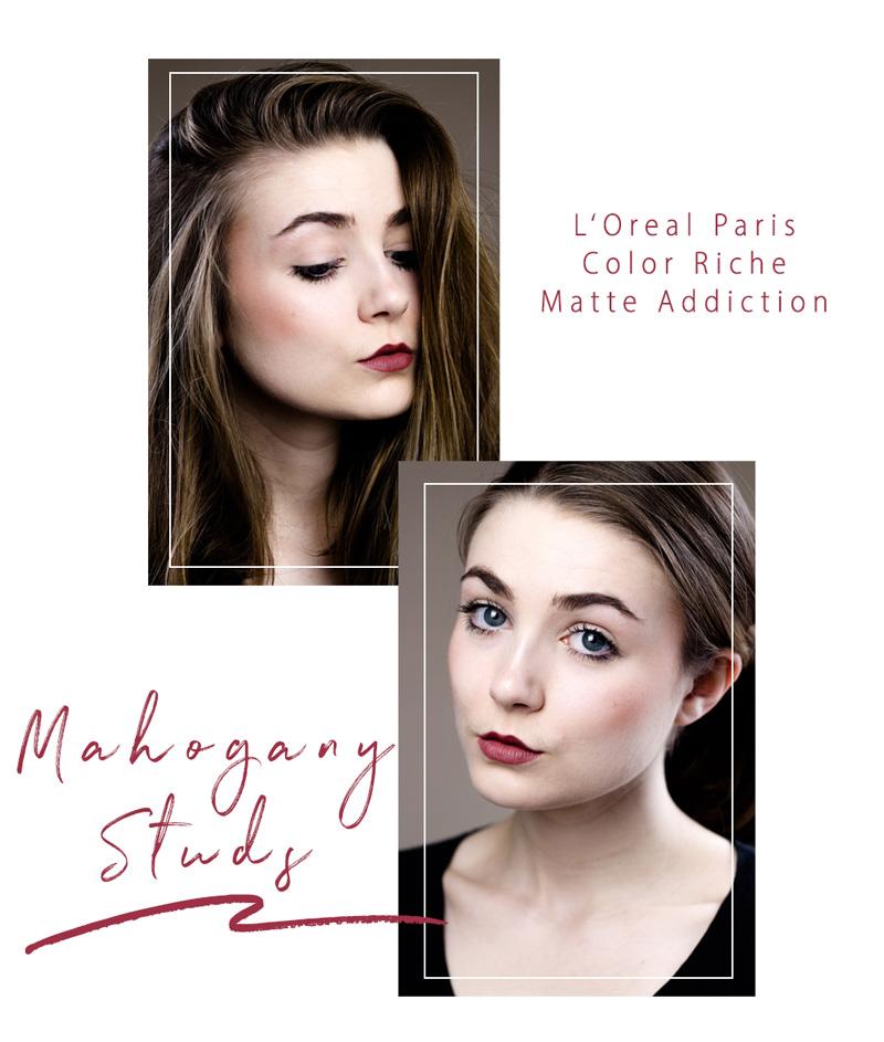 L'Oreal Color Riche Matte Lippenstift - 636 Mahogany Studs