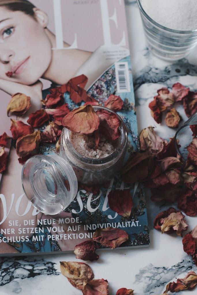 Handpeeling selber machen Little Emma DIY Blogger Beautyblog Influencer Deutschland Düsseldorf