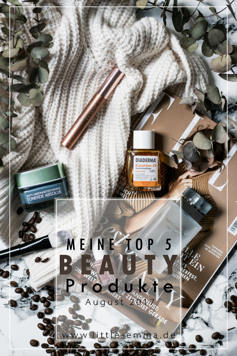 Meine Beauty Favoriten im August 2017 - mehr auf www.little-emma.de