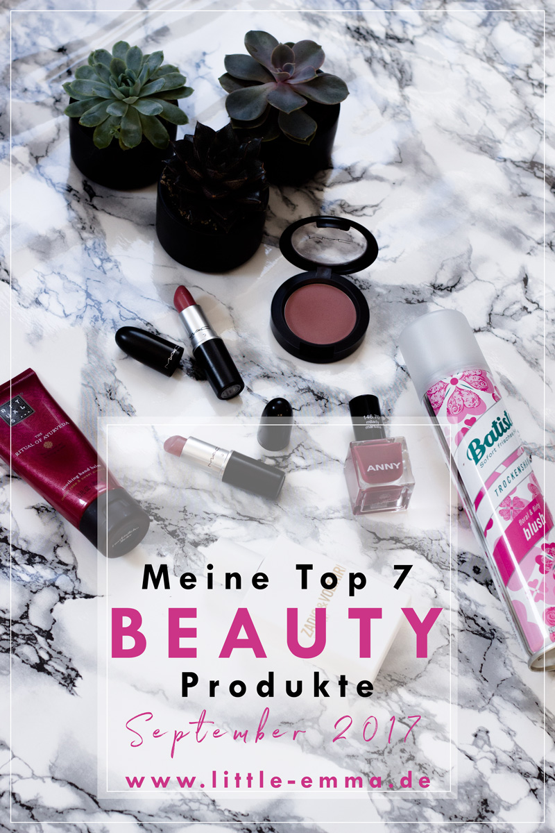 Meine Beauty Favoriten im September 2017 - mehr auf www.little-emma.de