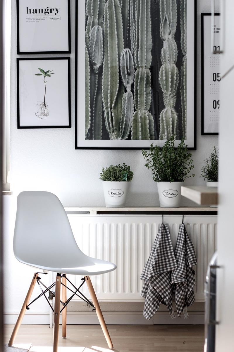 Interior Update: Unsere Küche mit Postern von Desenio (Werbung