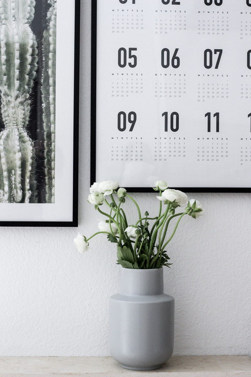 Einblick in unsere Küche - Meine Bilderwand mit Desenio - mehr auf www.little-emma.de